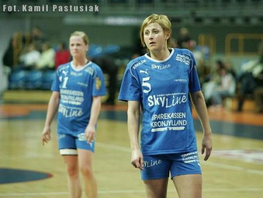 T. Silich (Randers HK - Dania), 1/4 Pucharu EHF, Liga Mistrzyń