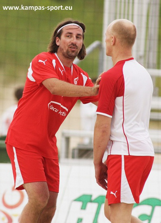 T. Iwan, K. Diablo Wlodarczyk - Polish Beach Soccer Championschips 2011