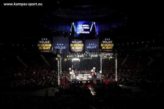 Wojak Boxing Night - Katowice 2012