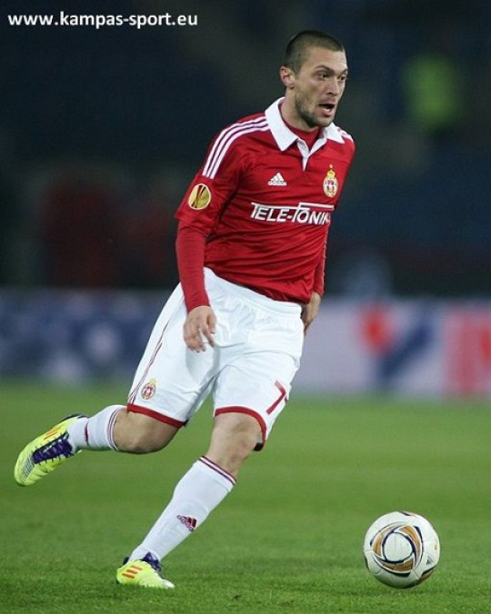UEFA Europa League 2011/2012 - Ivica Iliev (Wisla Krakow vs. Fulham London)