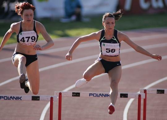Bieg na 400mm - 86 Mistrzostwa Polski w lekkiej atletyce