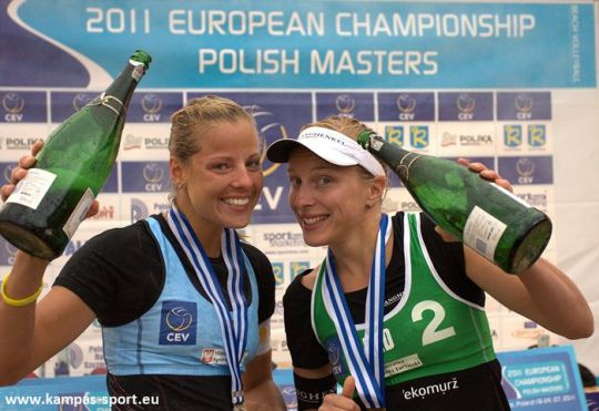 CEV European Championschip - Polish Masters 2011 - Awarding ceremony