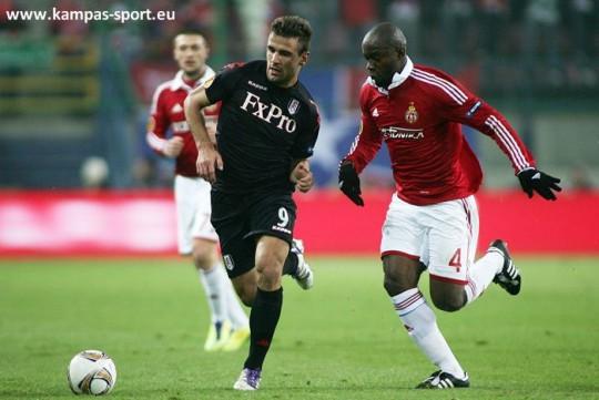 UEFA Europa League 2011/2012 - Wisla Krakow vs. Fulham London