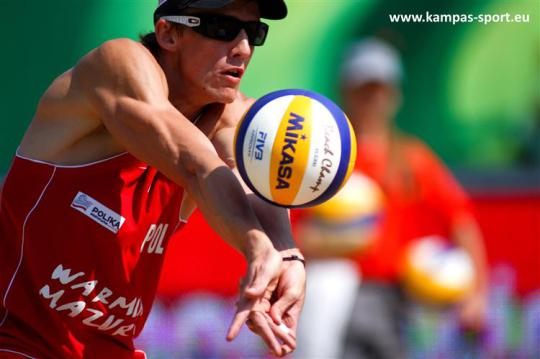 Jaroslaw Lech - FIVB Beach Volleyball World Championschips 2013