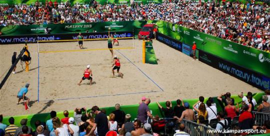 FIVB Beach Volleyball World Championschips 2013