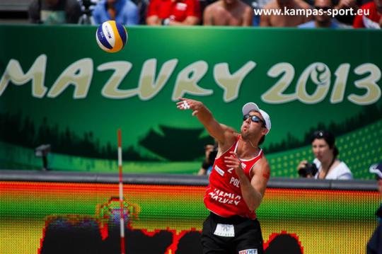 Grzegorz Fijalek - FIVB Beach Volleyball World Championschips 2013