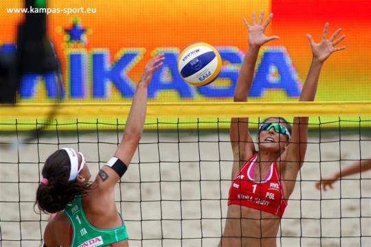 Poland vs Italy - FIVB Beach Volleyball World Championschips 2013