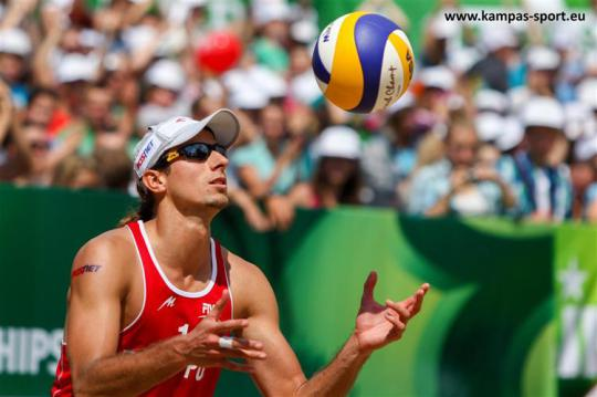 Mariusz Prudel - FIVB Beach Volleyball World Championschips 2013