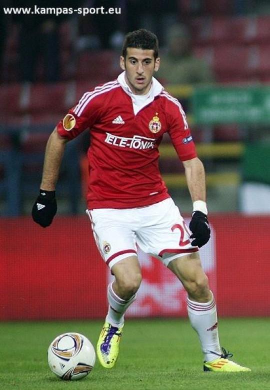 UEFA Europa League 2011/2012 - David Biton (Wisla Krakow vs. Fulham London)