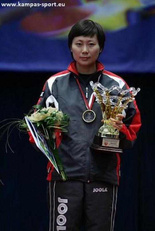 Xu Jie, Mistrzyni Polski 2010, 78 Indywidualne Mistrzostwa Polski w Tenisie Stolowym, Sosnowiec 2010