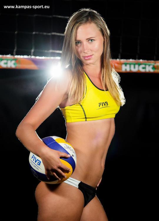 Karolina Baran - Mistrzyni Europy U22 w Siatkówce Plażowej