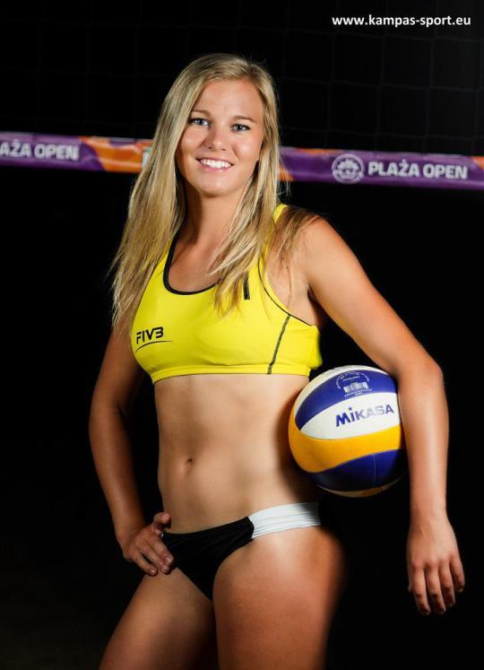 Jagoda Gruszczyńska - Mistrzyni Świata U21 w Siatkówce Plażowej