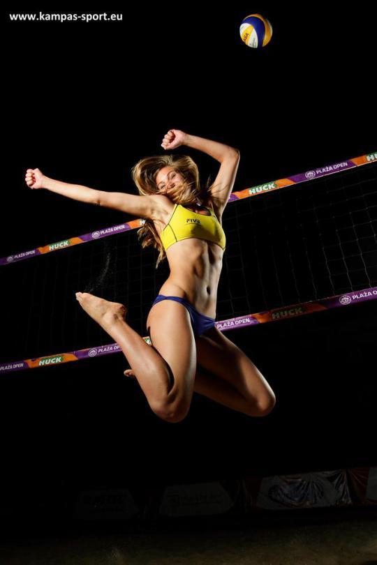 Dorota Strąg - Srebrna Medalistka Mistrzostw Europy U22 w Siatkówce Plażowej