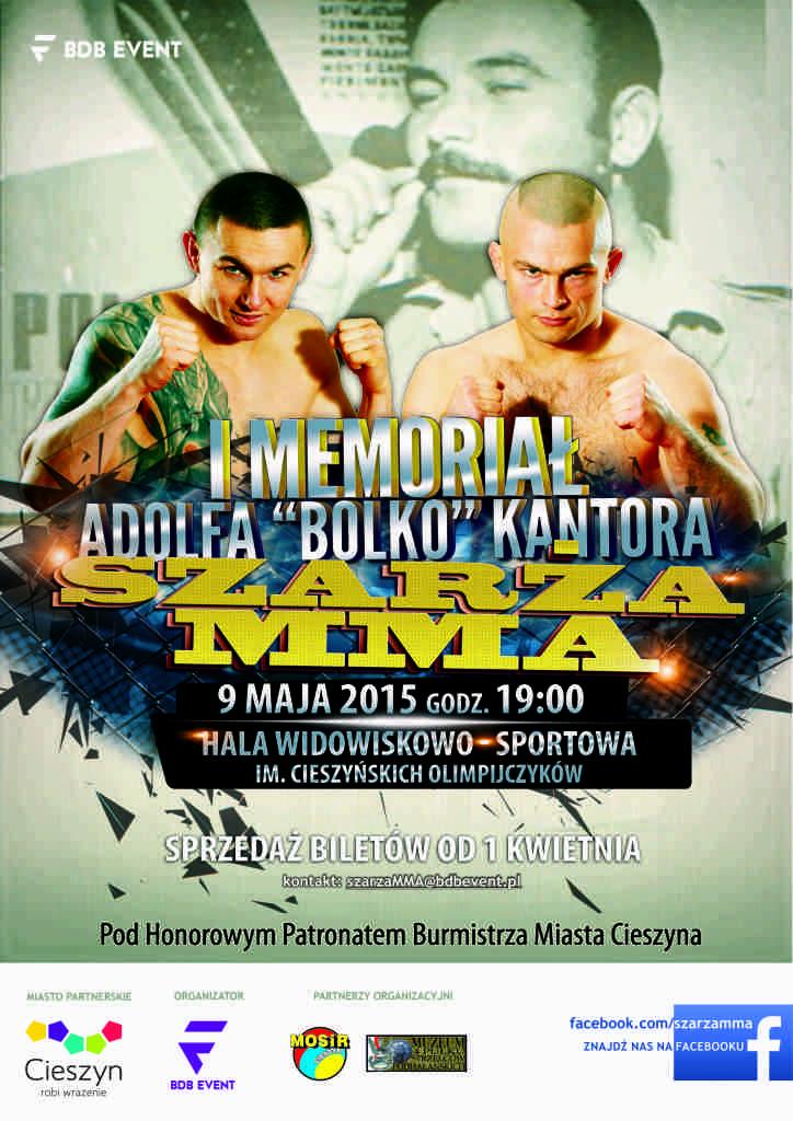 Plakat - Gala MMA